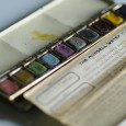 A vintage Munsell water colors set