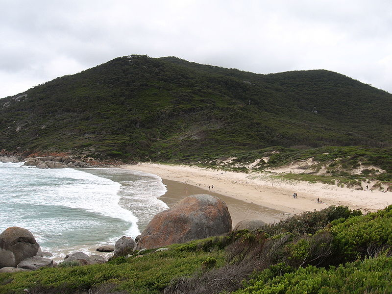 Squeaky beach at Wilsons Promontory National Park, Victoria, Australia.