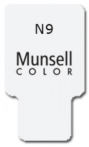 Munsell Chip Notation N9
