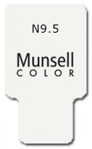 Munsell Chip Notation N9.5