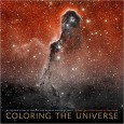 Book cover for Coloring Universe Making Spectacular Images Space
