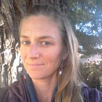A portrait of soil conservationist April Jernberg