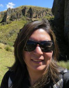 Elizabeth Cruzado Carranza, archaeologist.