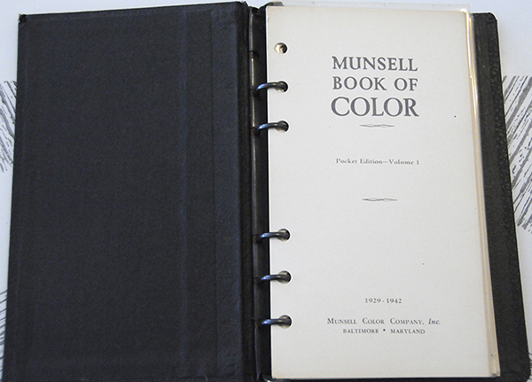 Excerpt from Munsell Book of Color Pocket Edition Page 01