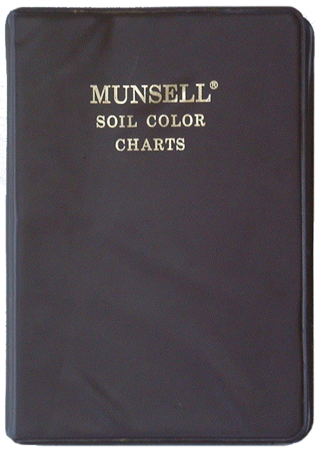 The brown version of the Munsell Soil Book of Color