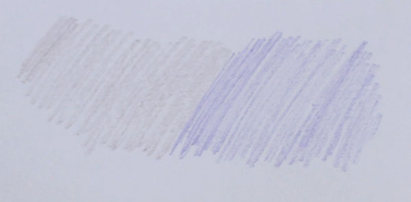 A card showing purple color values