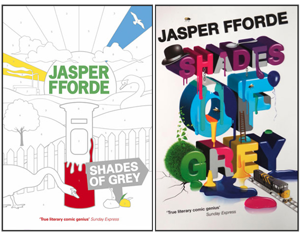Book covers for Shades of Grey by Jasper Fforde